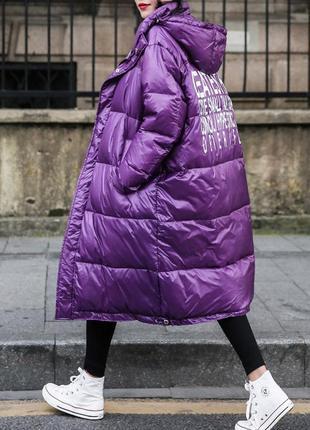 Женская зимняя куртка oversize