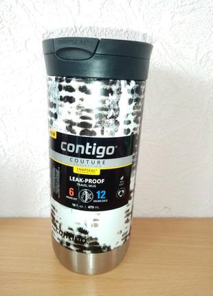 Термокружка термос Контиго Contigo Snapseal , 16 oz, 473 мл