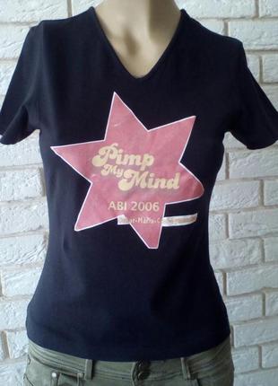 Звездная футболка  fruit of the loom
