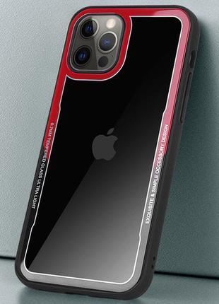 TPU+PC чехол G-Case Shock Crystal для Apple iPhone 12 Pro Max (6.