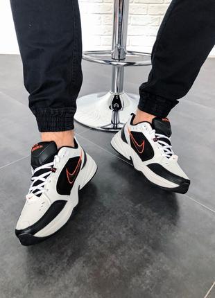 "Nike Air Monarch IV ""Black/White""(Топ качество)"