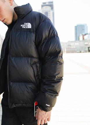 Пуховик tnf 1996 nuptse jacket black the north face