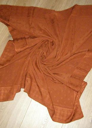 Emilio carducci , шелковый платок, италия