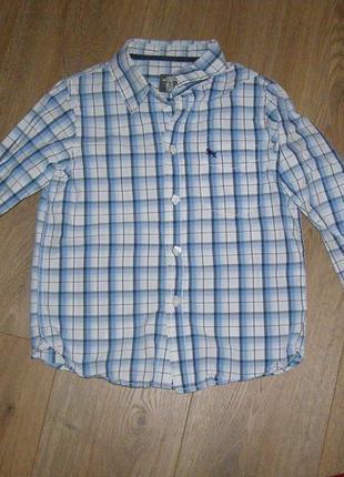 Рубашка h&m, р.122, 7лет