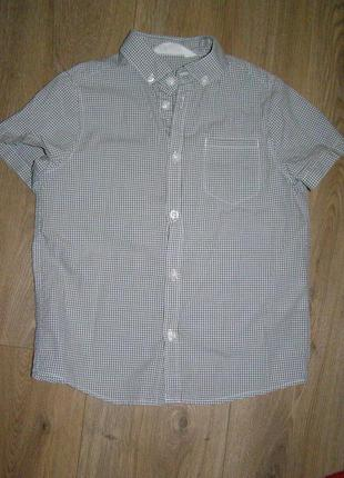 Рубашка h&m, р.128, 7-8 лет
