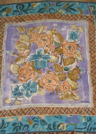 Шелковый платок cerruti