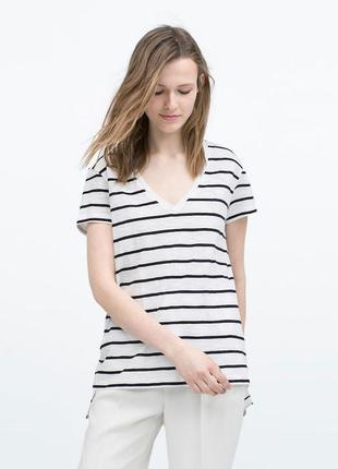 Zara  футболка, р.м