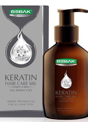 Масло для волос с кератином