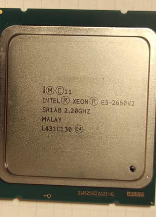 Процессор INTEL XEON E5-2660 V2/2,2GHz/25M/LGA2011
