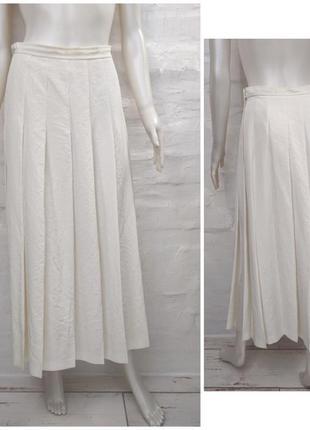 Comme des garcons стильная длинная юбка