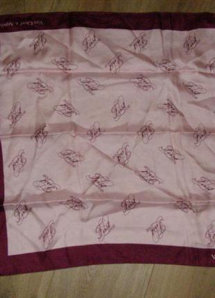 Шелковый платок van cleef & arples