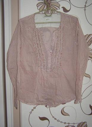 Рубашка, блуза maison scotch, р.1