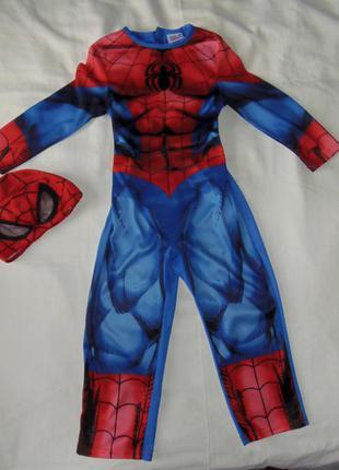 Костюм человек-паук,спайдермен на 3-4 года