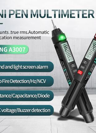 ANENG A3007 тестер мультиметр 6000 отсчет NCV AC/DC R/C/t прозвон