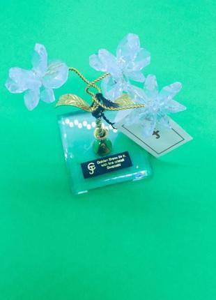Swarovski оригинал цветок золото 24 к и  кристаллы сваровски