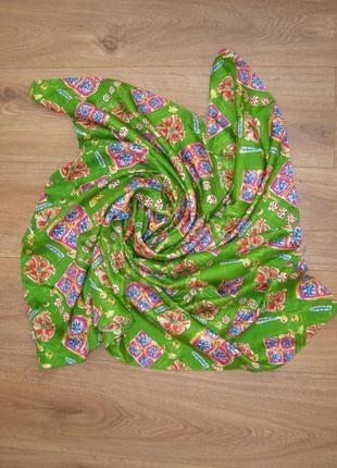 Большой шелковый платок joop