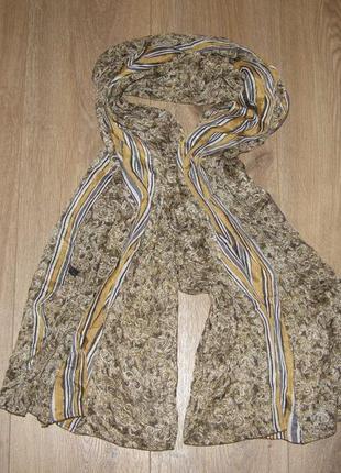 Шелковый шарф, платок bally,франция