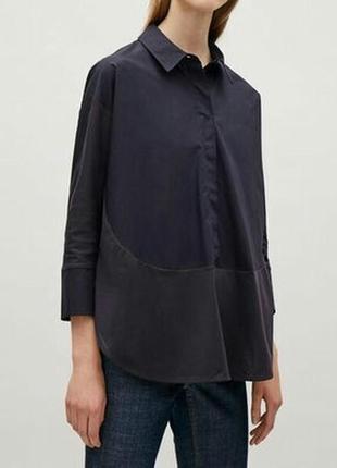Блуза, рубашка свободного кроя cos, р.с