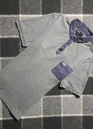 Мужская хлопковая футболка (поло) fred perry ( фред перри лрр ...