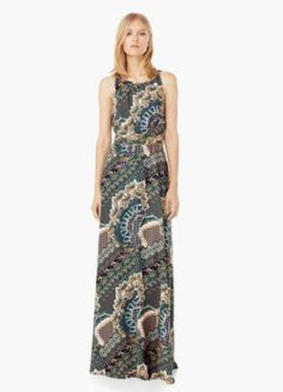 Платье в пол mango suit