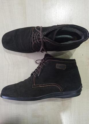 Черевики, ботинки шкіряні