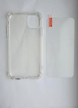Чехол для iphone 11 со стеклом