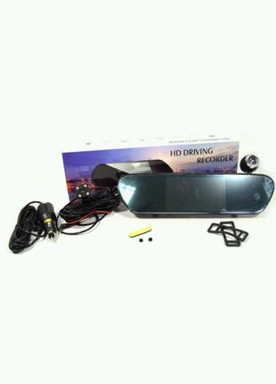 Авторегистратор Зеркало с камерой Заднего Вида DVR V9TP Full HD 5