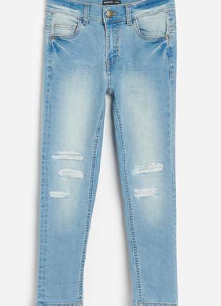Новые джинсы reserved slim fit