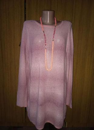 Удлиненный свитерок