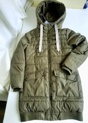 Куртка зимняя унисекс демисезон до -10 аляска пальто