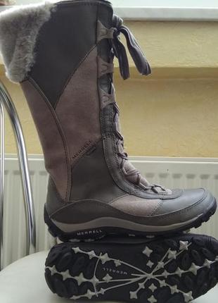 Зимние ботинки merrell prevoz waterproof suede (38 р.) оригина...