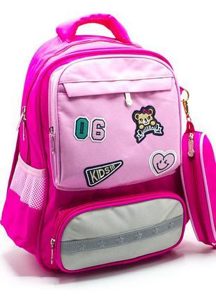 Детский рюкзак для школы, девочке, дитячий шкільний рюкзак...
