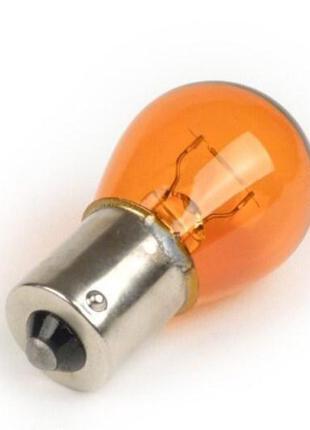 Авто лампа Р21W ORANGE (оранжевая) 12V 21W BA15s 25x47 Bosma