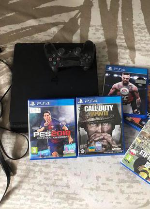 PlayStation 4 + Игры