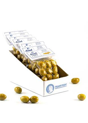 """Оливки зеленые сорта халкидики тм """"Greek Product"""" 100г"""