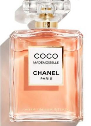 Coco mademoiselle parfum chanel 100 мл