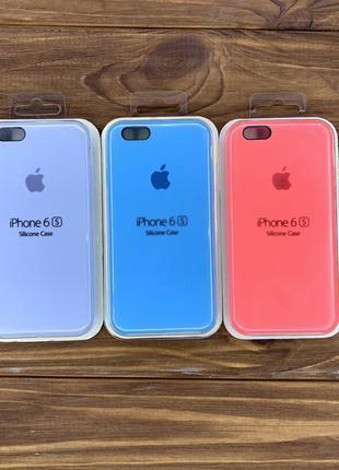 Чехол Apple Silicone / Leather case / чехол iPhone 6 / 6s