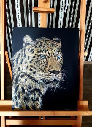 Авторская картина ,ягуар