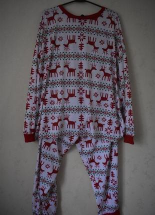 Домашний костюм пижама большого размера