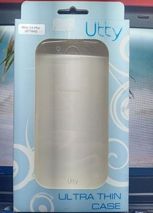 Чехол-накладка Motorola Moto G4 Plus (XT1642) Transparent