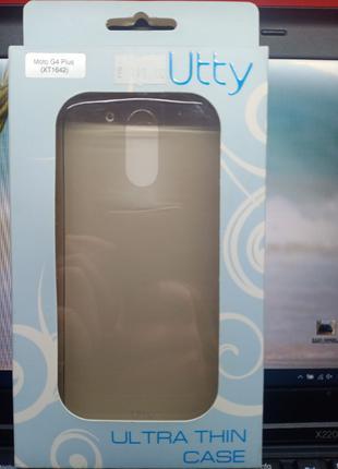 Чехол-накладка Motorola Moto G4 Plus  (XT1642) Черный