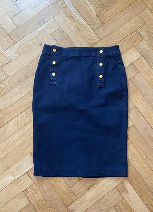 Джинсовая юбка ann taylor