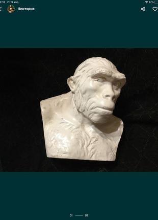 🔥старинный🔥 бюст статуэтка фигурка винтаж старина