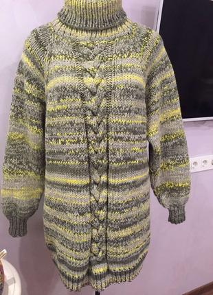 Продам свитер ручной вязки