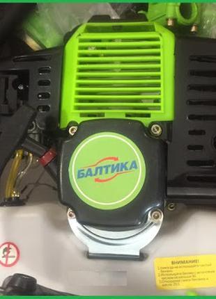 Мотокоса Балтика МБ-450 / Мощность 4,5 кВт / Нож 3х лопастной и ш