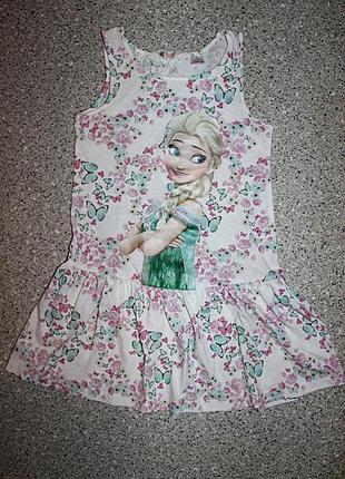 Платье фрозен эльза