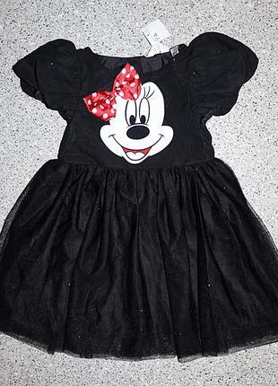 Платье с минни маус