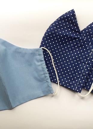 Защитная многоразовая тканевая маска для лица Мужские Женские Дет