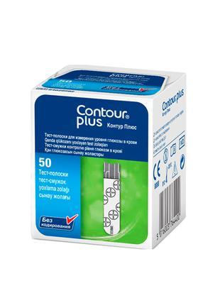 Contour Plus тест полоски Контур Плюс