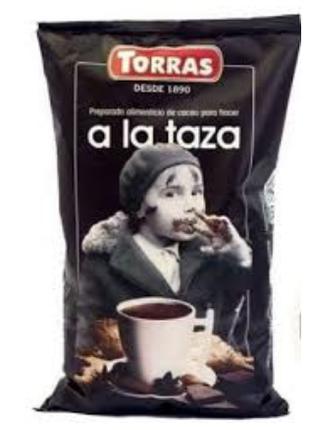Горячий шоколад Torras Какао без глютена лактозы сахара для людей